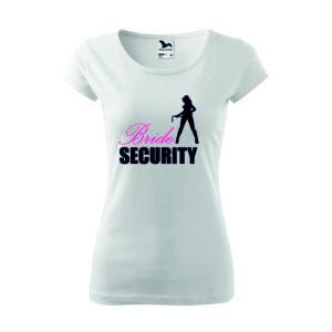 Bride security lánybúcsús póló