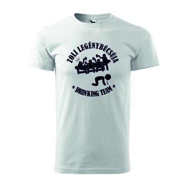 Neves legénybúcsúja feliratos póló