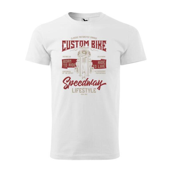 Custom Bike motoros póló
