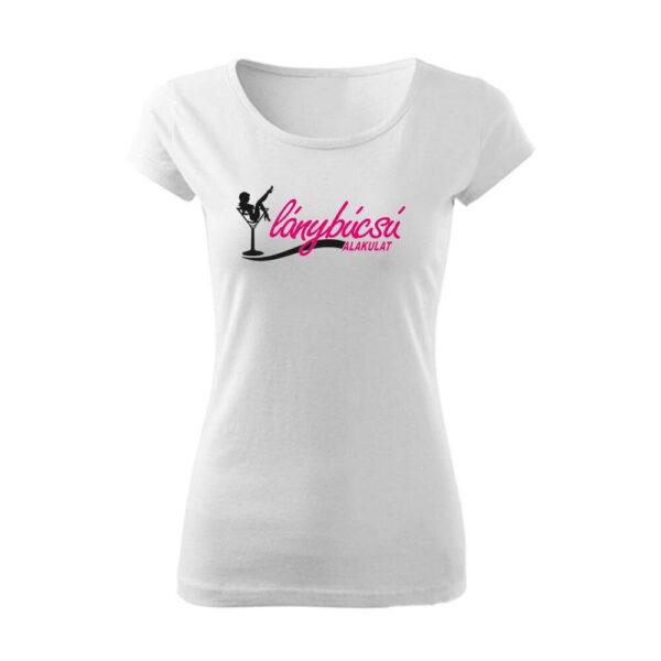 Koktélpoharas Lánybúcsú alakulat női póló