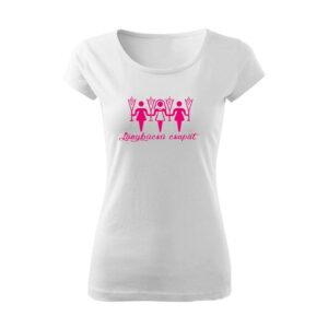 Lánybúcsú csapat női póló
