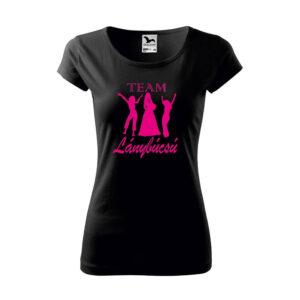 Team Lánybúcsú női póló