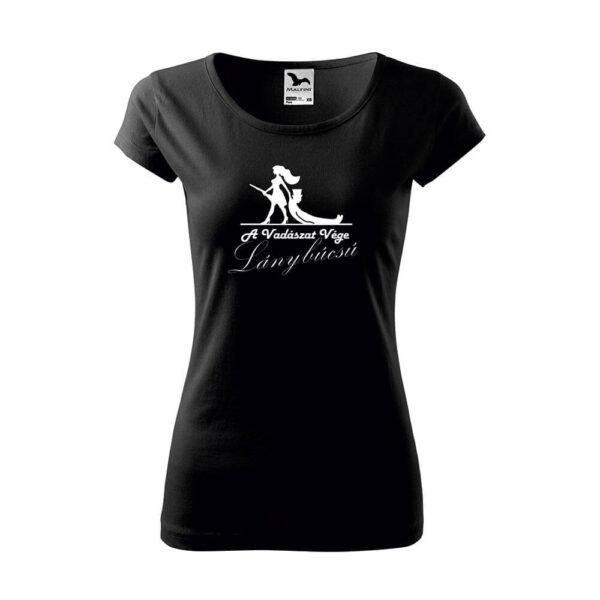 A Vadászat Vége Lánybúcsú női póló