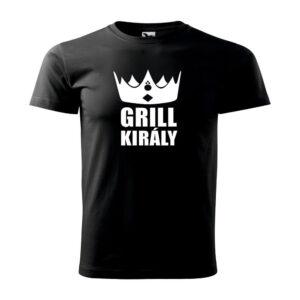 Grill király póló