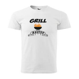 Grill master feliratú póló