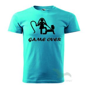 Game over legénybúcsú póló