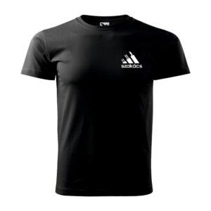 Szakács logós póló - fekete