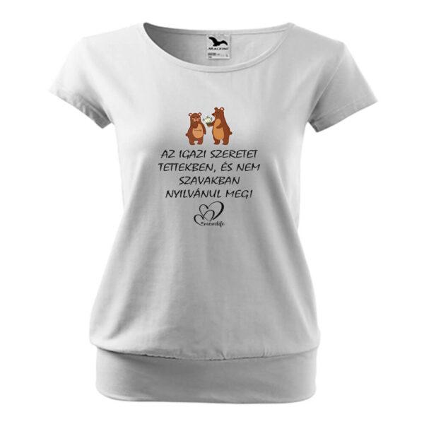 Momlife macis póló