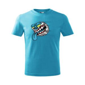 Halloween Baseball póló - kék