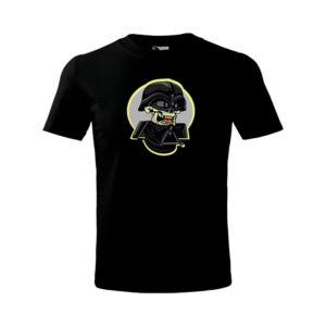 Halloween Darth Vader Skull póló - foszforeszkáló
