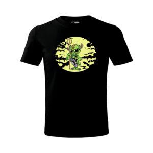 Halloween Goblin gyerekpóló - foszforeszkáló